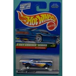 64 Scale X Ray Cruiser Series 1967 Chevy Camaro Die Cast Car 3/4