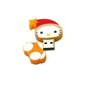 8GB Christmas Baby Cartoon USB Flash Drive Orange
