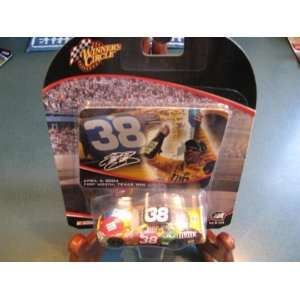 2004 Elliott Sadler #38 Ford MMs Texas Win April 2004