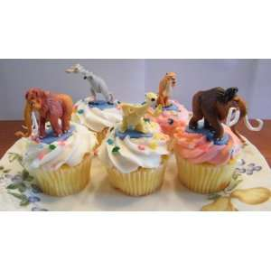 Ice Age Movie Cake Topper Decortaion Figure Set with Manny, Sid, Diego