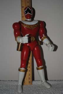 Power Rangers Zeo PRZ loose tall action figure 8 Zeo Ranger 5 Red
