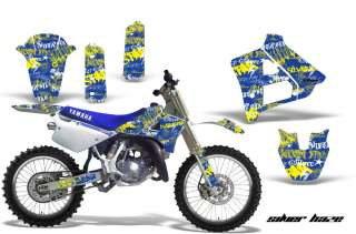AMR RACING MOTORCYCLE GRAPHIC MX DECAL STICKER KIT YAMAHA YZ125 1991