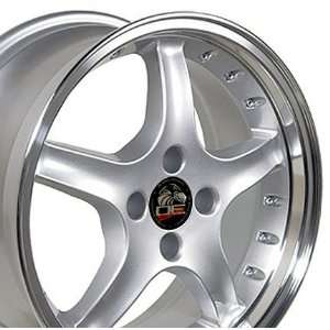 Cobra R 4 Lug Deep Dish Style Wheels with Rivets and Machined Lip Fits