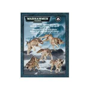 Space Wolves Fenrisian Wolf Pack (2012) Toys & Games