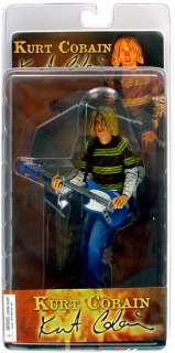 KURT COBAIN NIRVANA SMELLS LIKE TEEN SPIRIT NECA 7 ACTION FIGURE