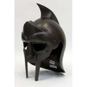 Gladiator Arena Helmet in Steel with Antique Finish