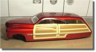 18 1950 MERCURY WOODY PARTS / PROJECT / JUNK YARD / DIORAMA