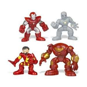 Iron Man Super Hero Squad Battle Packs   Hall of Armor