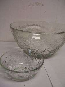 Princess House Fantasia 5 Pc Salad Bowl Set # 052