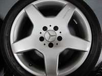 four 99 06 Mercedes S430 S500 Factory AMG 18 Wheels Tires OEM Rims