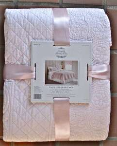 NIP SIMPLY SHABBY CHIC COVERLET SETS (twin, full/queen, king)