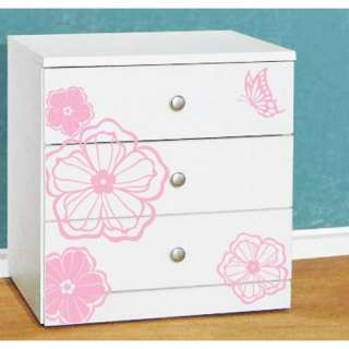 Flower Blossom Adhesive WALL STICKER Removable Decal 29