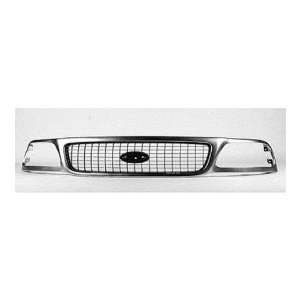 FORD TRUCK EXPEDITION Grille assy XLT; bright & charcoal