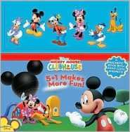 5+1 Makes More Fun Magnet Book (Mickey Mouse