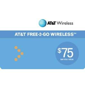 AT&T Prepaid $75 Refill Card Cell Phones & Accessories
