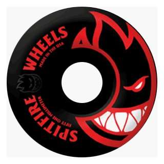 Spitfire Wheels Black Bighead/red 52mm (4 Wheel Pack