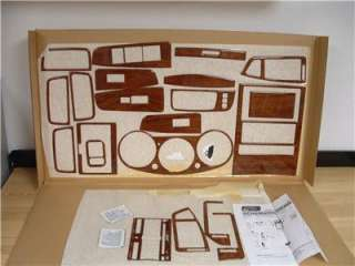 2007 2008 NISSAN MAXIMA BUBINGA WOOD FINISH DASH KIT