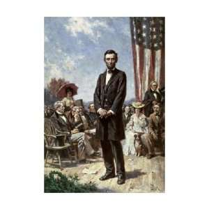 Jean Leon Gerome Ferris   The Gettysburg Address Giclee