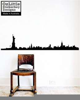 New York City Skyline Wall Decal Sticker B2