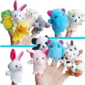 /lot animal finger puppet finger doll baby doll/dolls Toys & Games