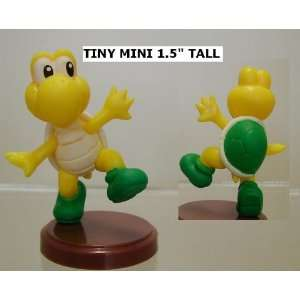 Super Mario Bros Koopa Troopa Green Figure ( Tiny Mini 1.5