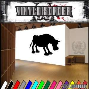 Bull Bulls Animal Animals Vinyl Decal Sticker 025