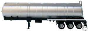 Promotex 48 Rd. Chemical Tank Trailer, 3 Axle Silver
