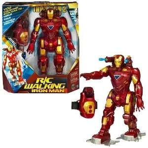 Remote Control Walking Iron Man Figure Toys & Games
