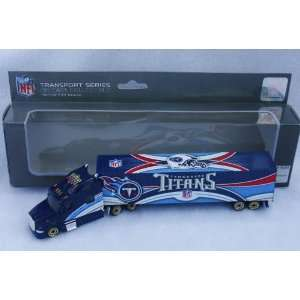 TITANS NFL SEMI DIECAST TRACTOR TRAILER TRUCK by UPPERDECK Sports