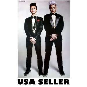 Bigbang G Dragon and Top POSTER 23.5 x 34 Big Bang T.O.P. Korean boy
