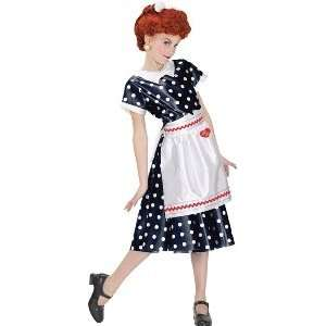 I Love Lucy Child Dress Medium Toys & Games