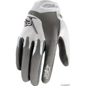 Fox Racing Reflex Gel Glove Womens Large Gray  Sports