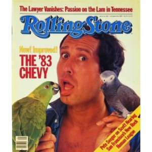 Rolling Stone Cover of Chevy Chase / Rolling Stone Magazine