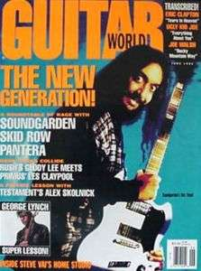 Guitar World Magazine June 1992 Kim Thayil MINT