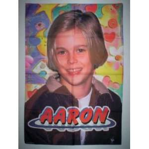 AARON CARTER 44x30 Inches Cloth Textile Fabric Poster