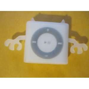 White Ipod Shuffle 4th Generation Angel & Devil Skin Soft