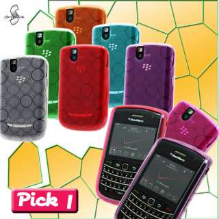 1x SOFT TPU GEL CASE COVER VERIZON BLACKBERRY BOLD 9650