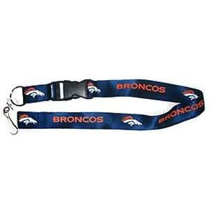 Denver Broncos Breakaway Lanyard with Key Ring (Quantity
