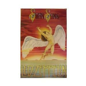 Led Zeppelin Poster Swan Song Commercial