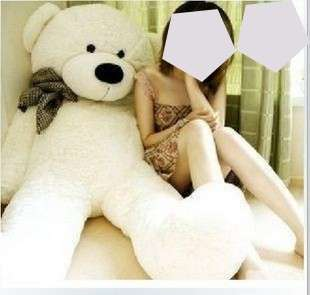 giant teddy Bear stuff soft toy Christmas New Year wedding gift