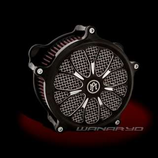 PERFORMANCE MACHINE HEATHEN CONTRAST CUT AIR CLEANER HARLEY TOURING
