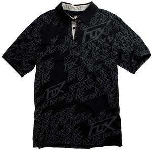 Fox Racing Supersonic Polo   X Large/Black Automotive