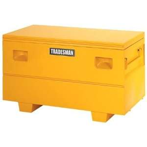 Tradesman TST4827YW 48 Yellow Steel Job Site Tool Box