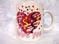 LOVE YOU, AND A FIREWORKS OF LOVE, COFFEE CUP, MUG