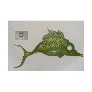 Fish Wall Hanging   Welding Art Metal Works