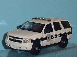 2008 CHEVY TAHOE POLICE CAR 124 WHITE