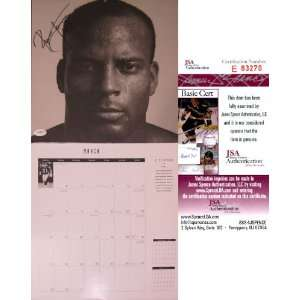 Ronnie Lott Autographed 1994 Calendar (James Spence