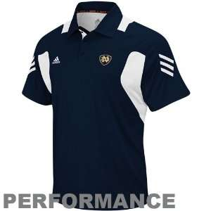 Notre Dame Fighting Irish Navy Blue Scorch Classic Performance Polo