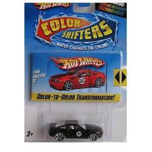 Hot Wheels Color Shifters Ford Mustang GT, 164 Scale