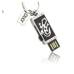 Fashion Jewelry USB Flash Drive 4 Gb with Key Chain